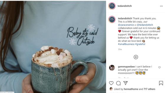 Ted & Stitch Collab with Zara Ceramics