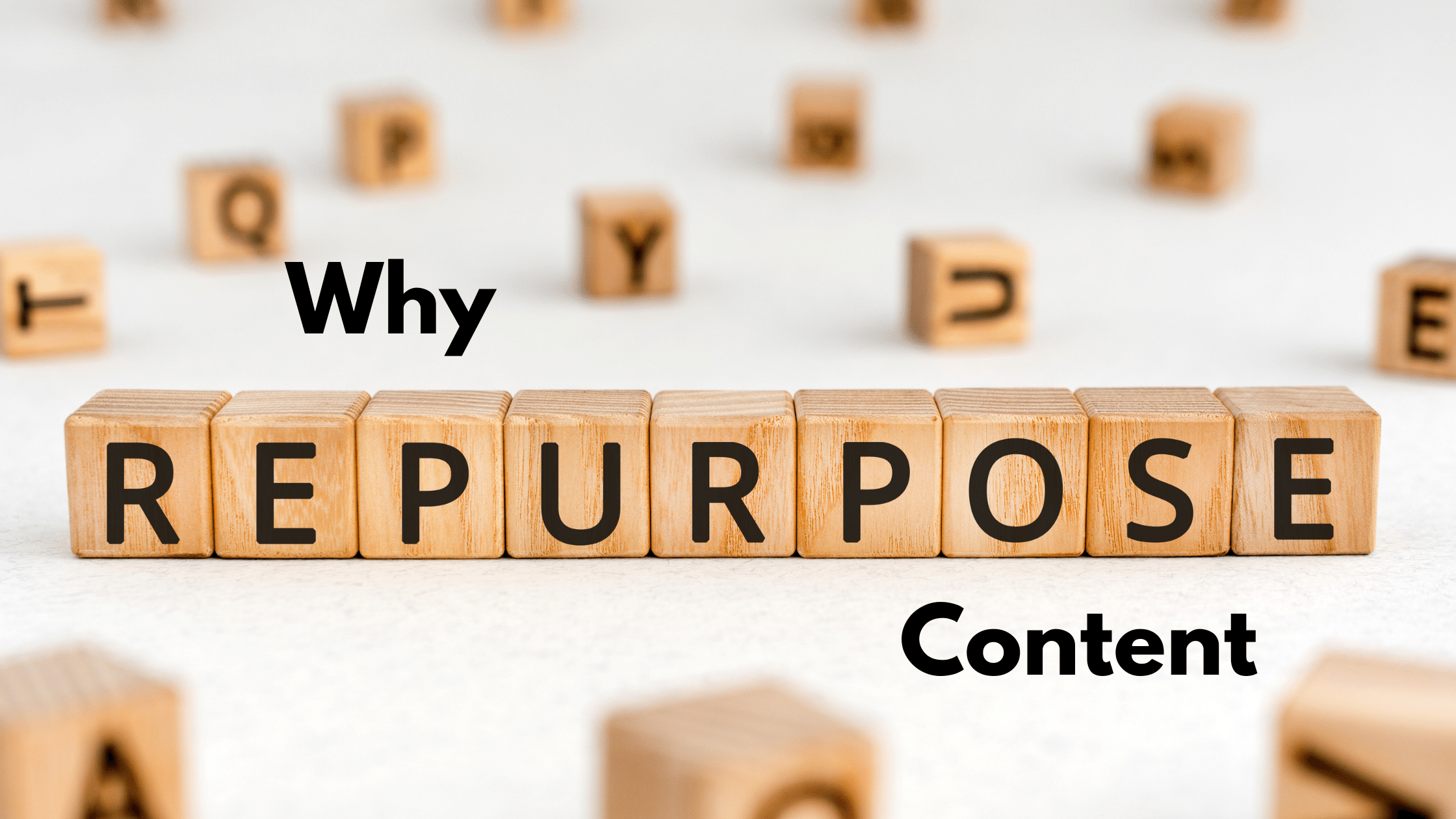 Why repupose content